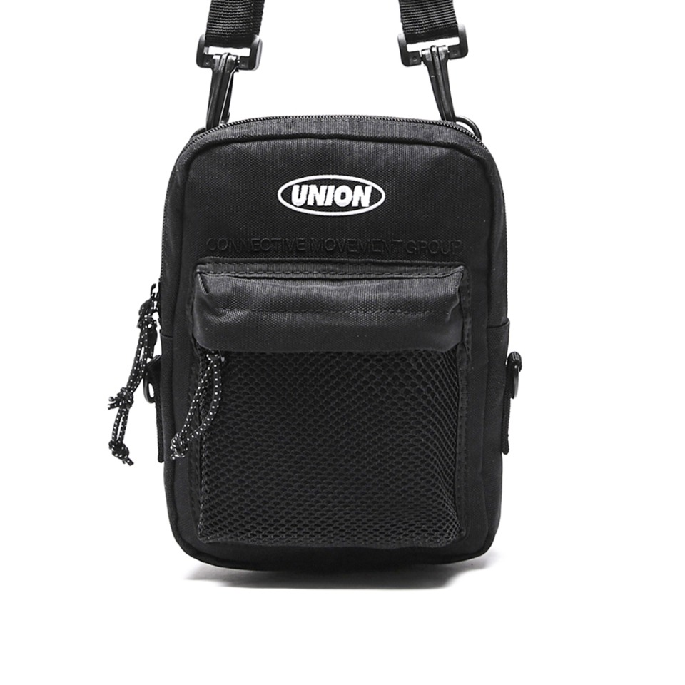 UNION SUPER MESH CROSS BAG - BLACK
