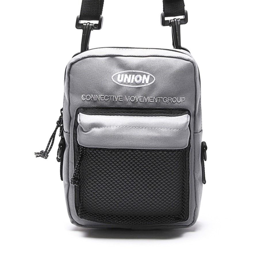 UNION SUPER MESH CROSS BAG - GRAY