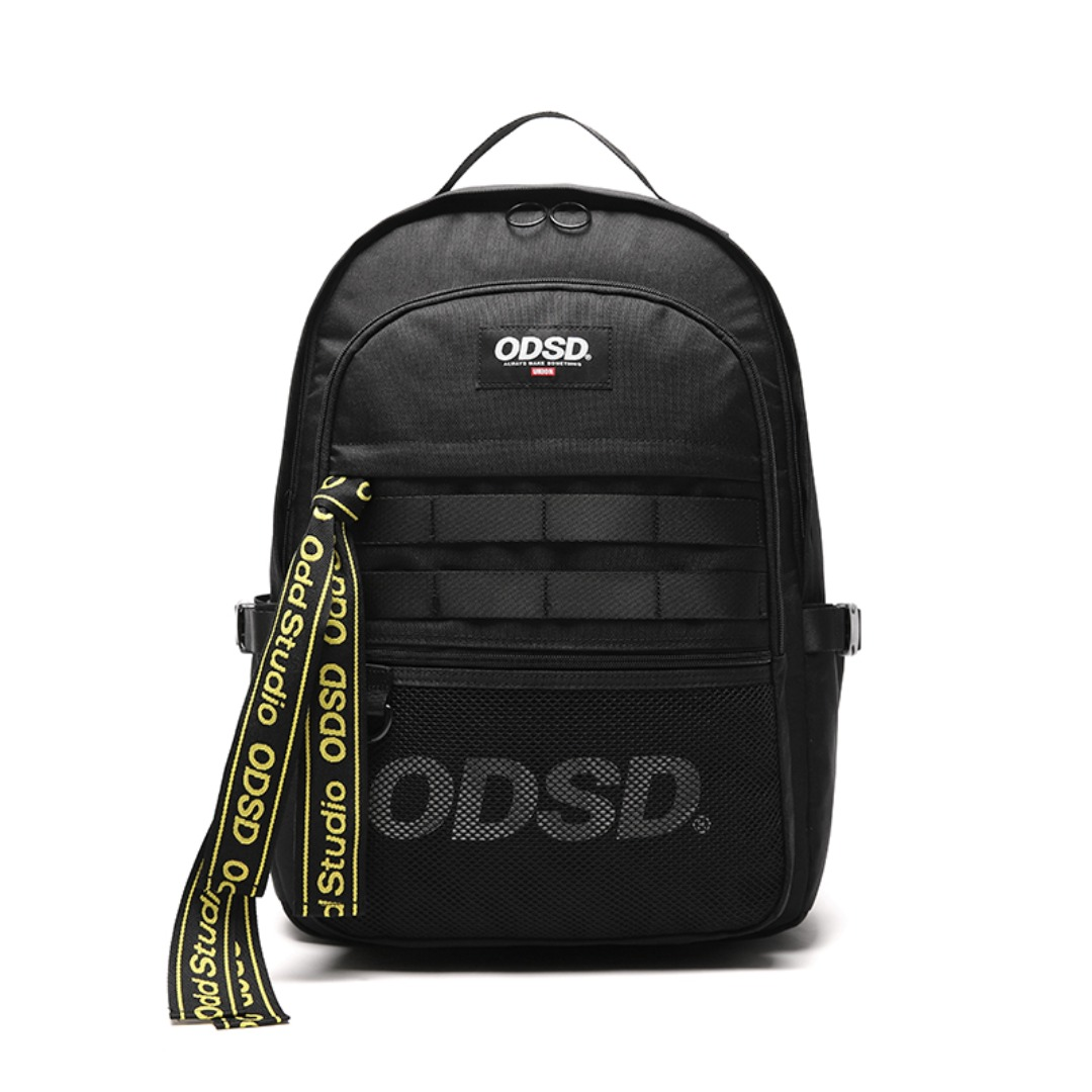 ODD X UNION TAPE MESH BACK PACK - BLACK